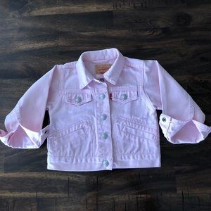 Levi's Pink Denim Jacket